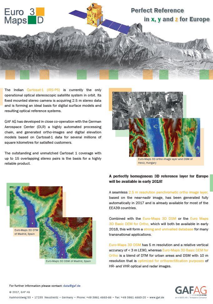 GAF AG - Euro-Maps 3D