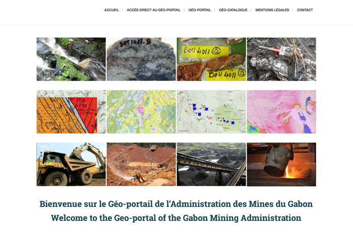 Launch of a new geo-portal by the Gabon Mining Administration | GAF