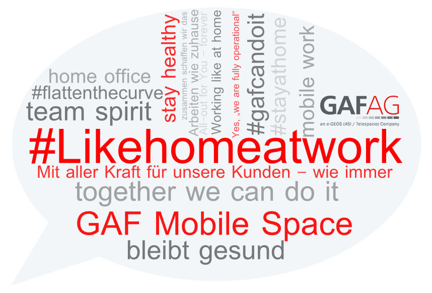 Word Cloud GAF AG